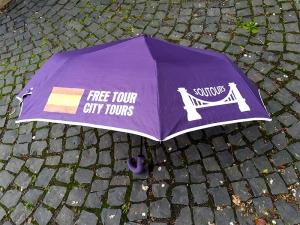 Paraguas Morado Soutours