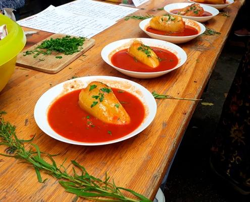 gastronomía húngara tradicional
