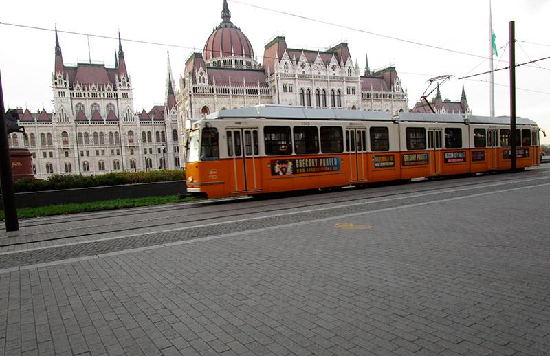 Parlamento de Hungría Tranvía
