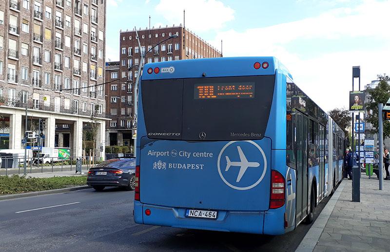 autobús Budapest