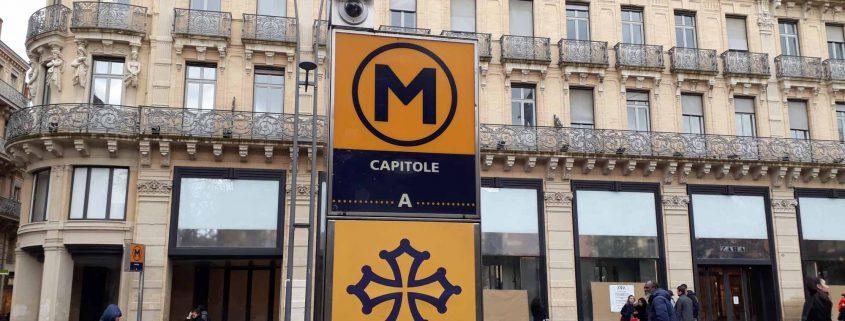 Parada de Metro Capitole en Toulouse
