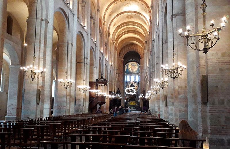 arquitectura románica Francia - free tour Toulouse