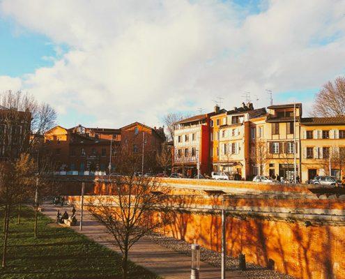 el clima en Toulouse