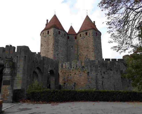 Carcassonne es uno de los diez pueblos bonitos cerca de Toulouse que debes visitar