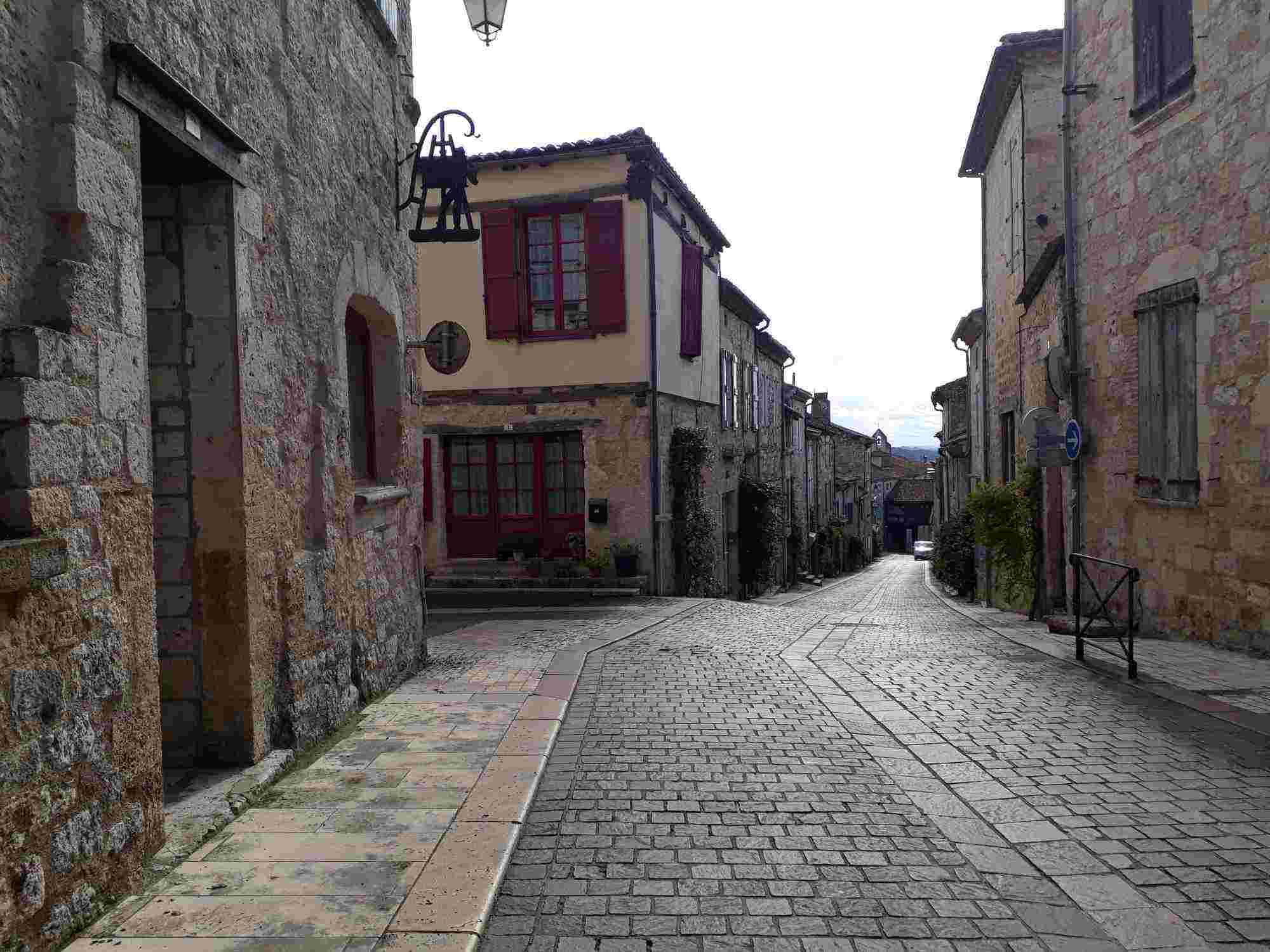 Lauzerte, también considerado como uno de los diez pueblos más bonitos cerca de Toulouse