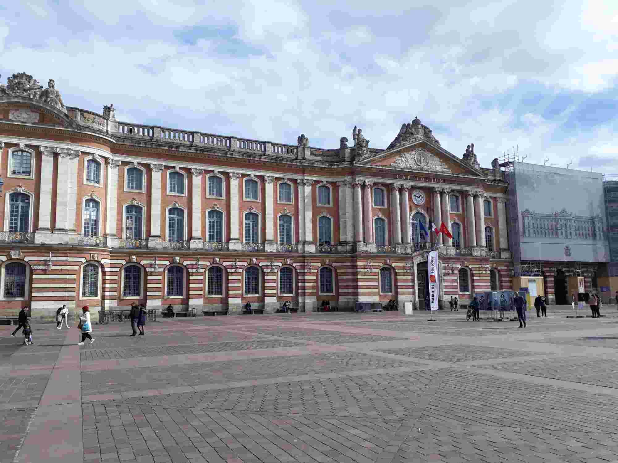 El Capitolio es una de nuestras paradas del Free Tour Toulouse Imprescindible
