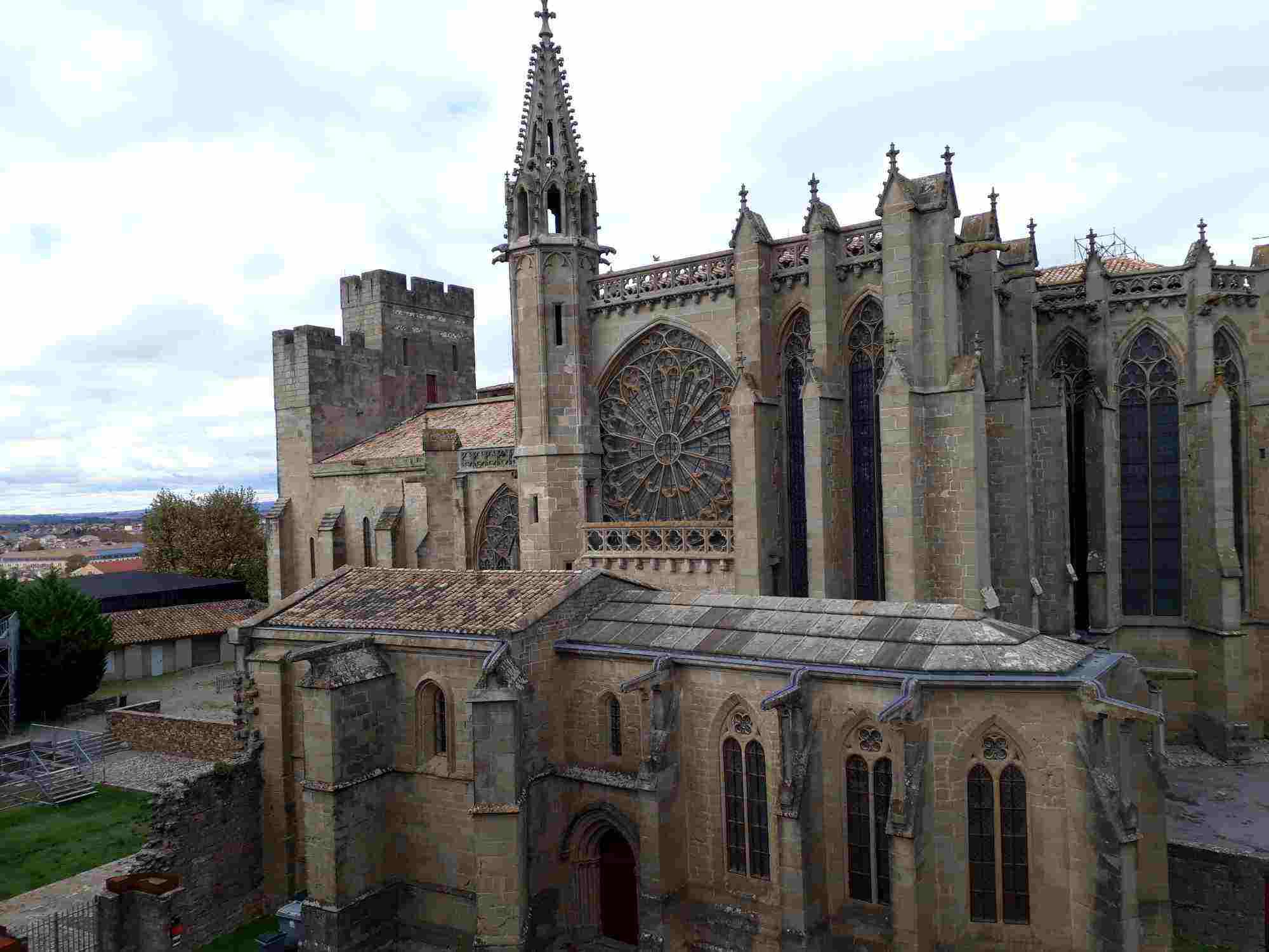 La Basílica de Saint-Nazaire de Carcassonne fue su catedral hasta 1801