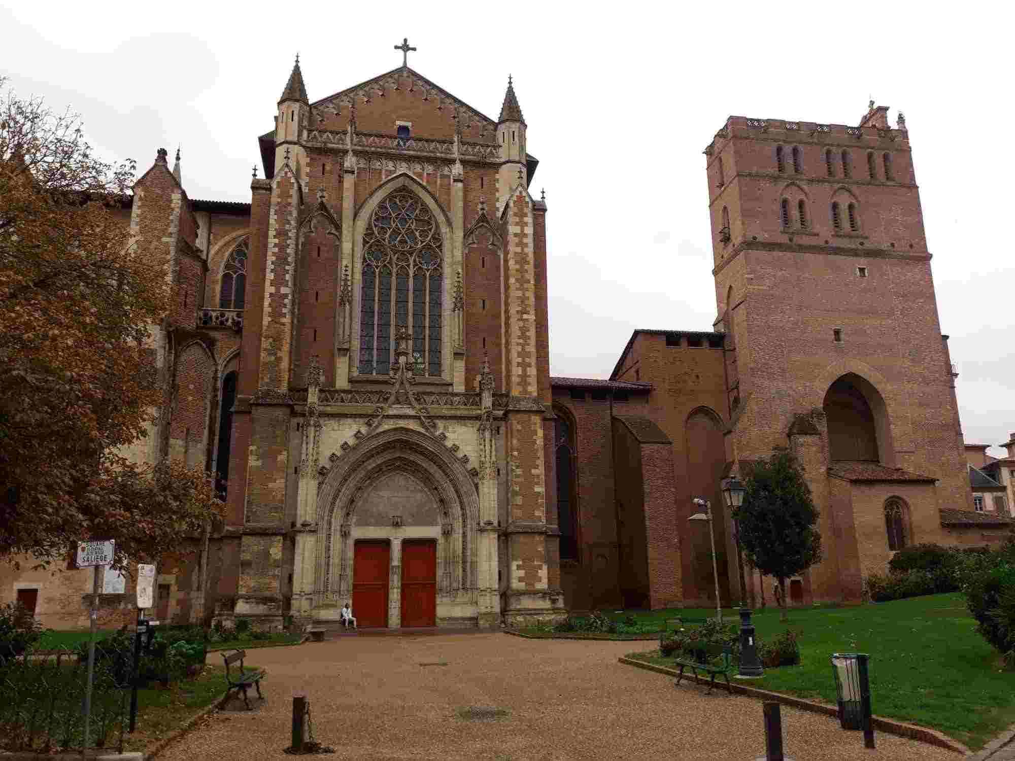 Exterior de la Catedral de Saint-Étienne