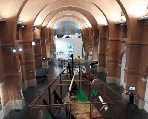 El Museo de Les Abbatoirs es uno de los 13 mejores museos de Toulouse y e encuentra en el edificio del antiguo matadero municipal